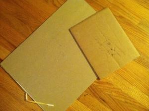 Cardboard cutting mats