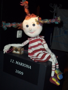Mariona, the mascot of TOPIC.