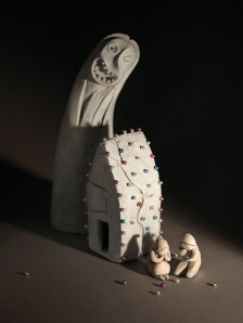 Tan's sculpture for 'Hansel and Gretel' retold by Philip Pullman.