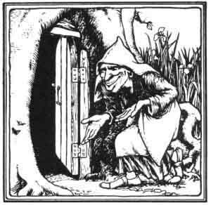 Habetrot, the Border fairy of spinning and an avatar of Rumplestiltskin.
