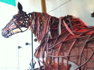 Joey, the title character of WAR HORSE.
