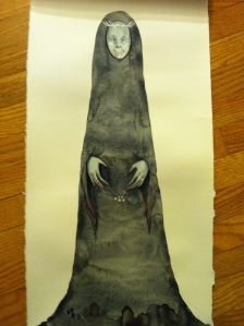Black Annis, artwork by Amelia Gossman